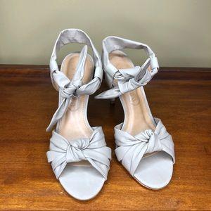 Anthropologie Vicenza Paris Sage Ankle Strap Heels